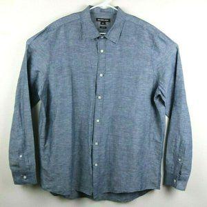 Michael Kors Cotton Long Sleeve Button Down Shirt